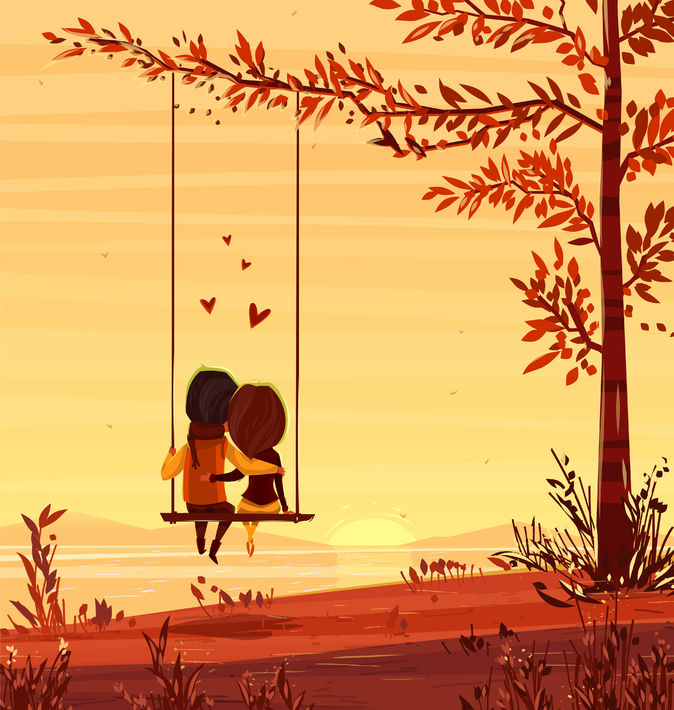a-couple-sitting-on-swing