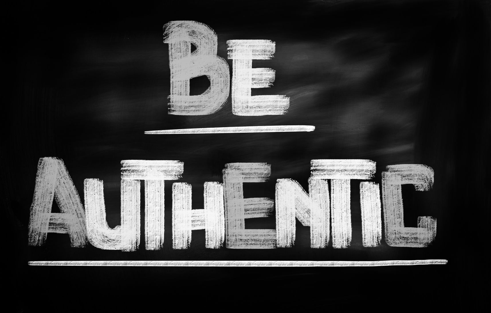 be-authentic-sign