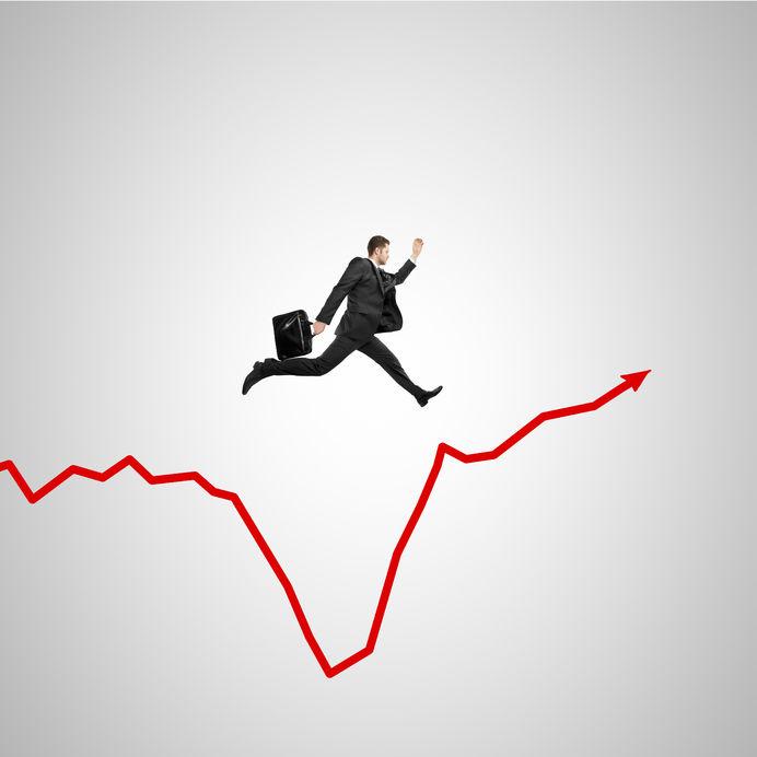 businessman-leaping-chart-gap-Michael Michlaughlin