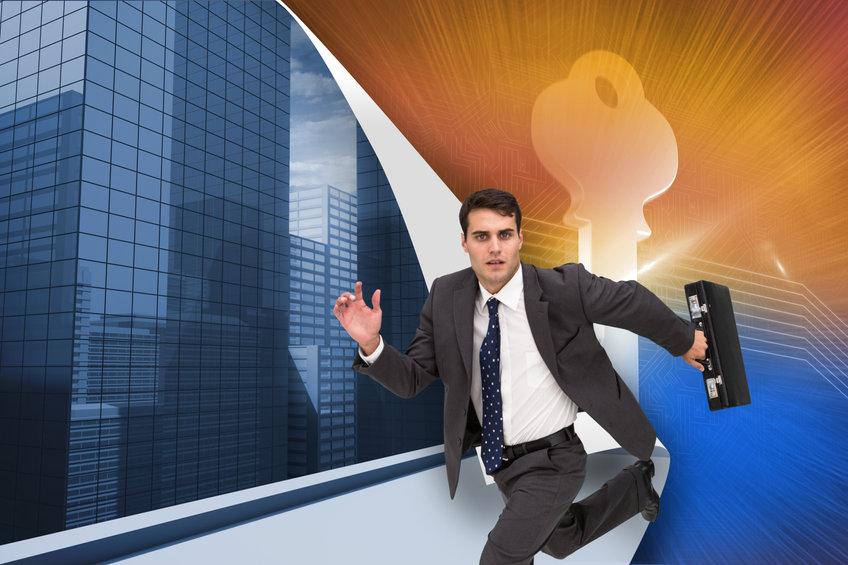 businessman-on-move