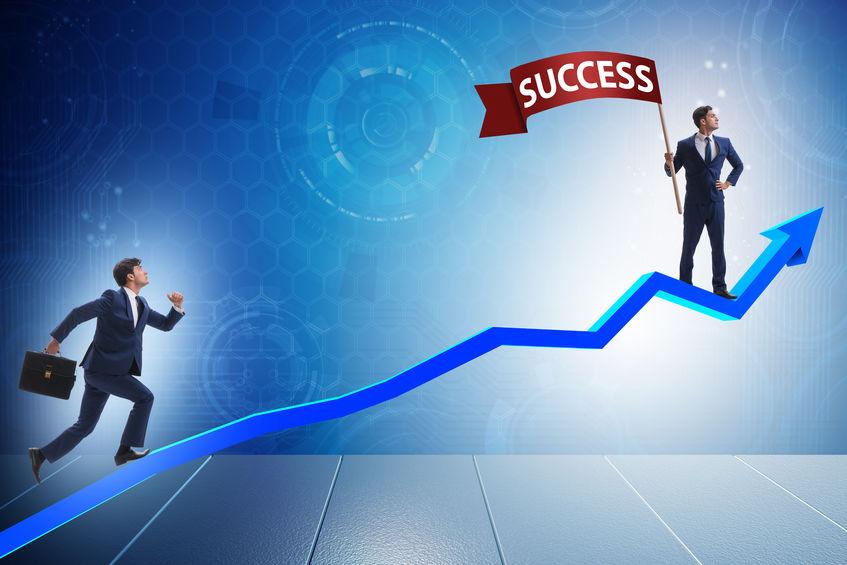 businessman-running-up-chart
