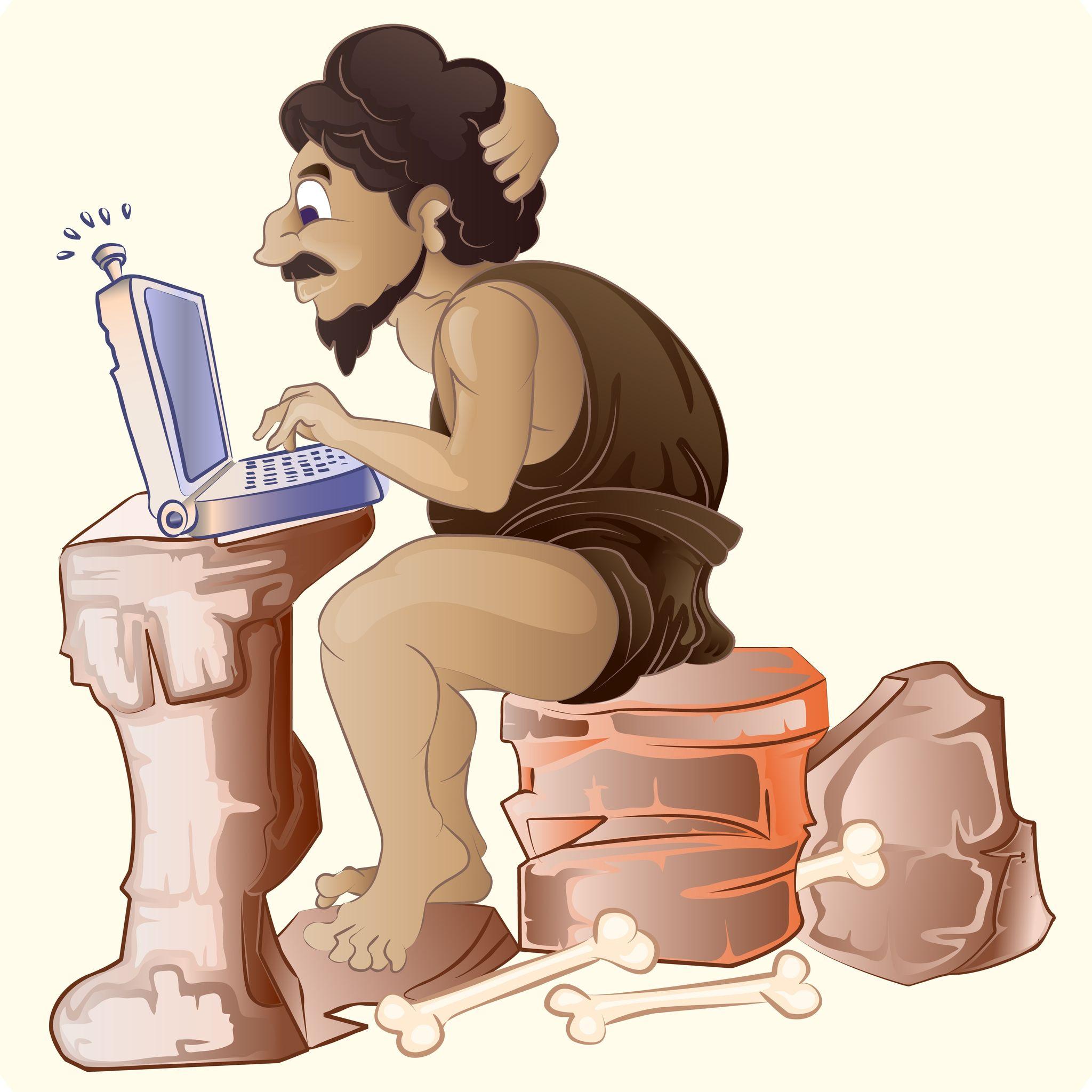 caveman-with-laptop