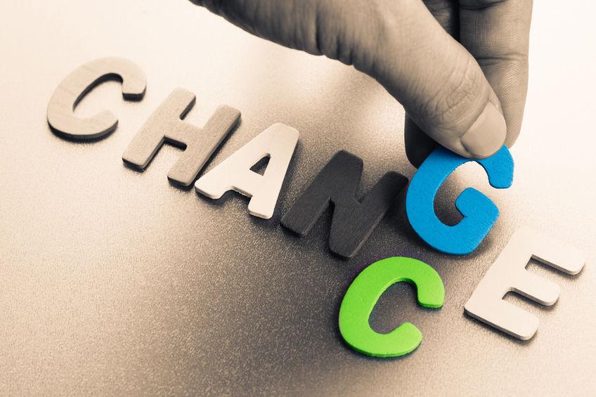 change-