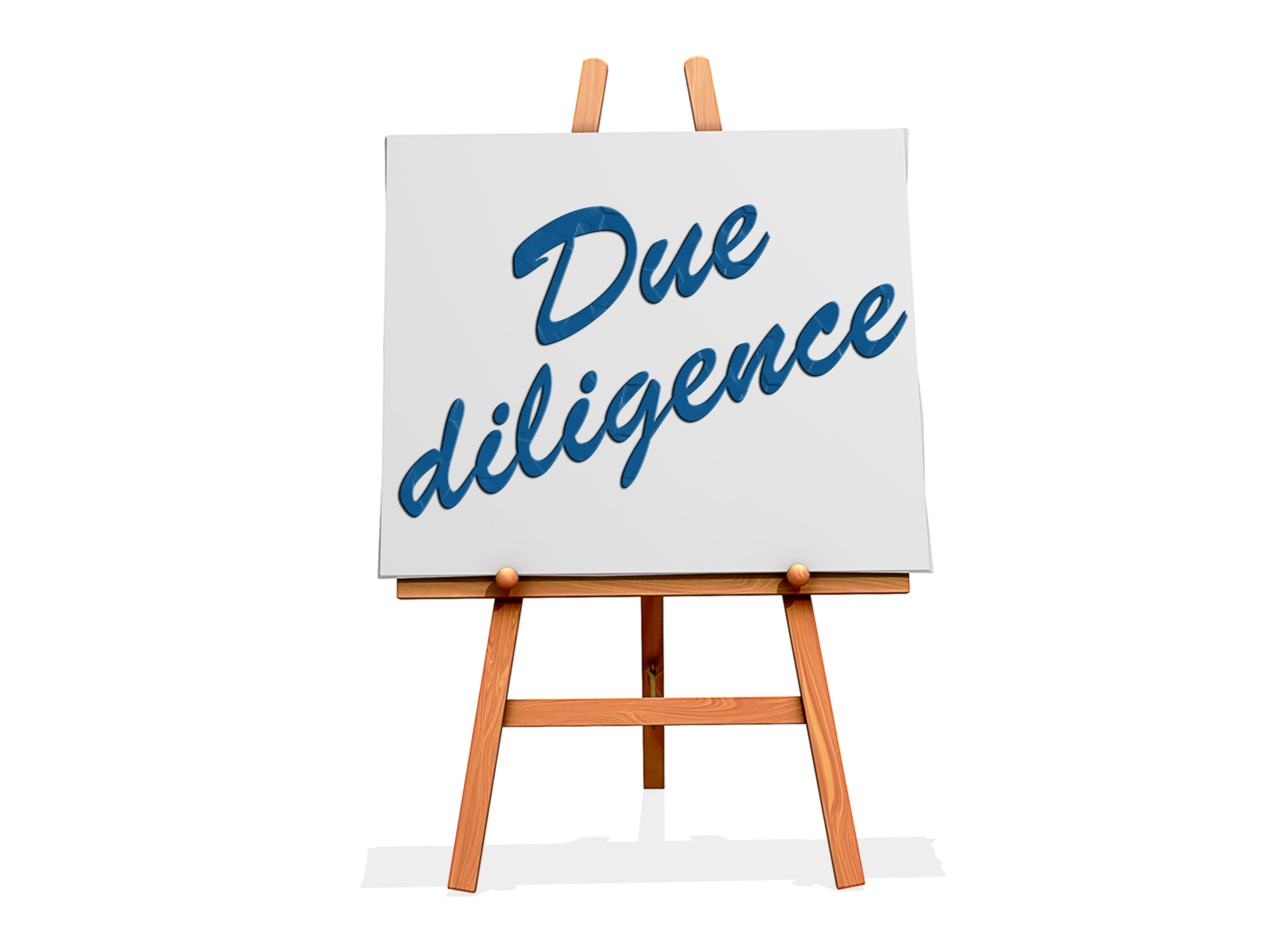 due-diligence-sign