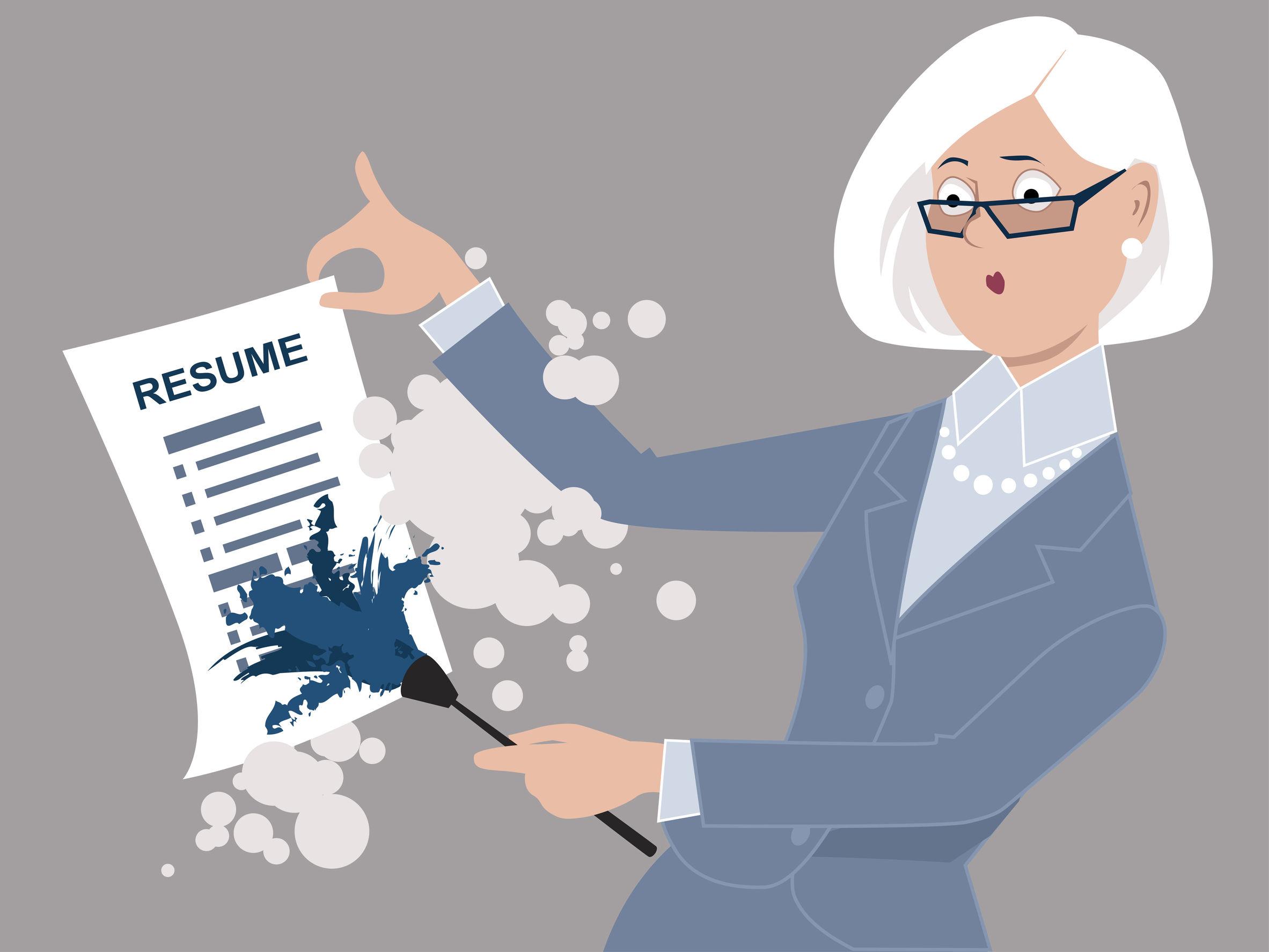 dusting-old-resume