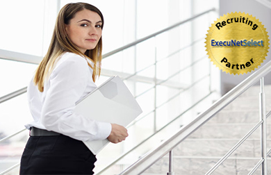 execunetselect-woman-walking-stairs