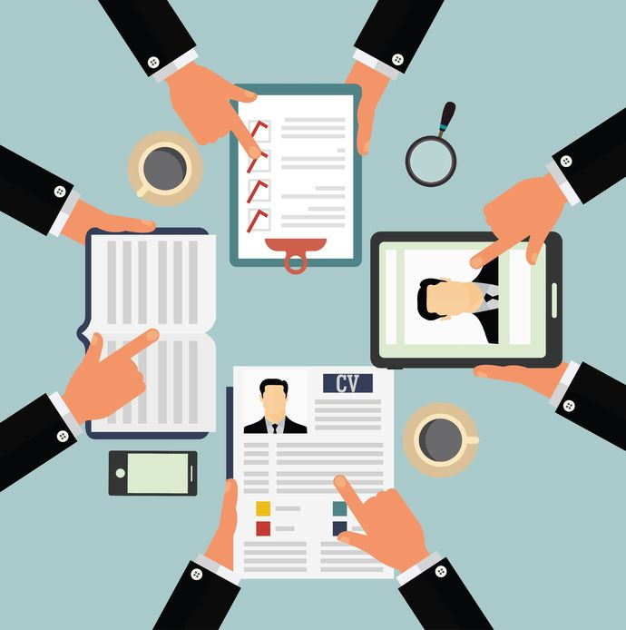 execunet how do recruiters read an executive resume