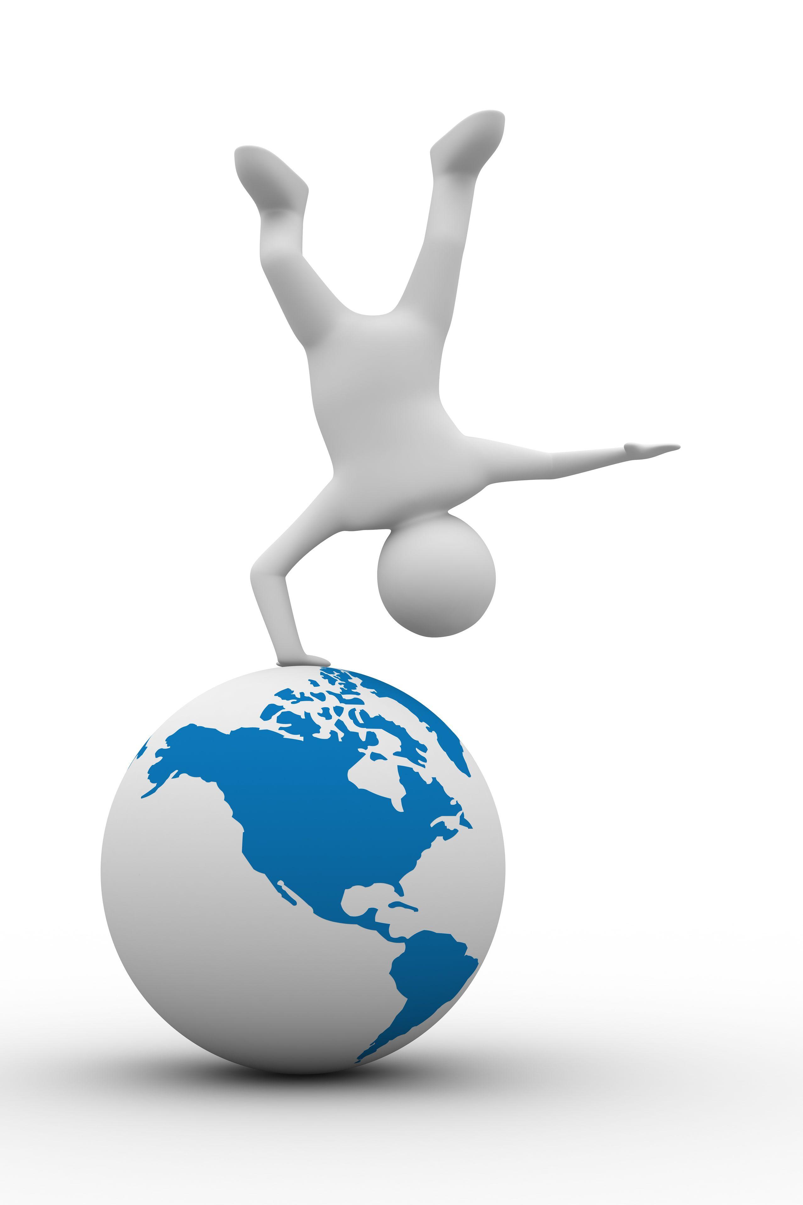 hand-stand-on-globe