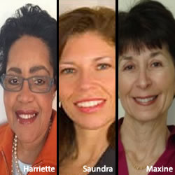 Harriette Lowenthal Saundra Botts Maxine Dolle