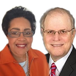 Harriette Watford Lowenthal and Stuart Levine