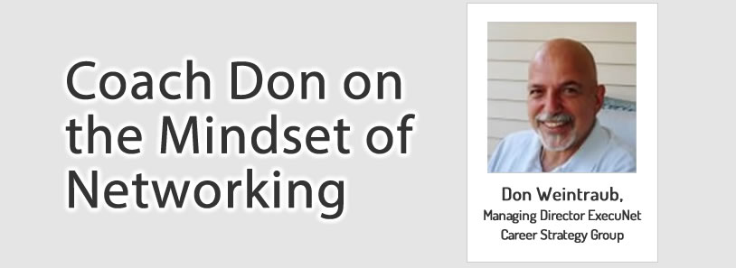 Coach Don on the Mindset of Networking