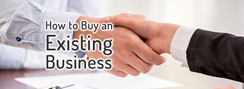 How to buy an existing business