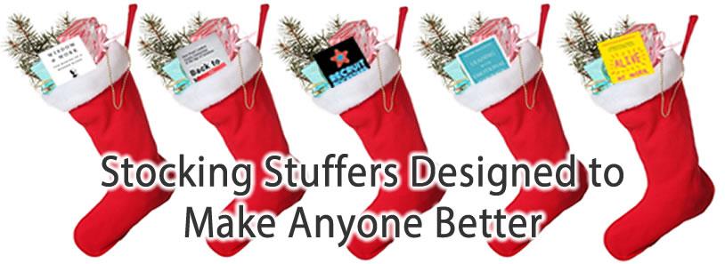 Stocking Stuffers Designed to Make Anyone Better