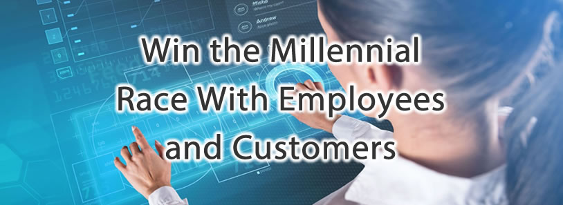 Win the Millennial Race With Employees and Customers