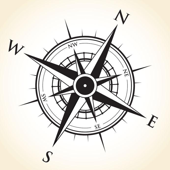 north-south-east-west-symbol-BILL GEORGE