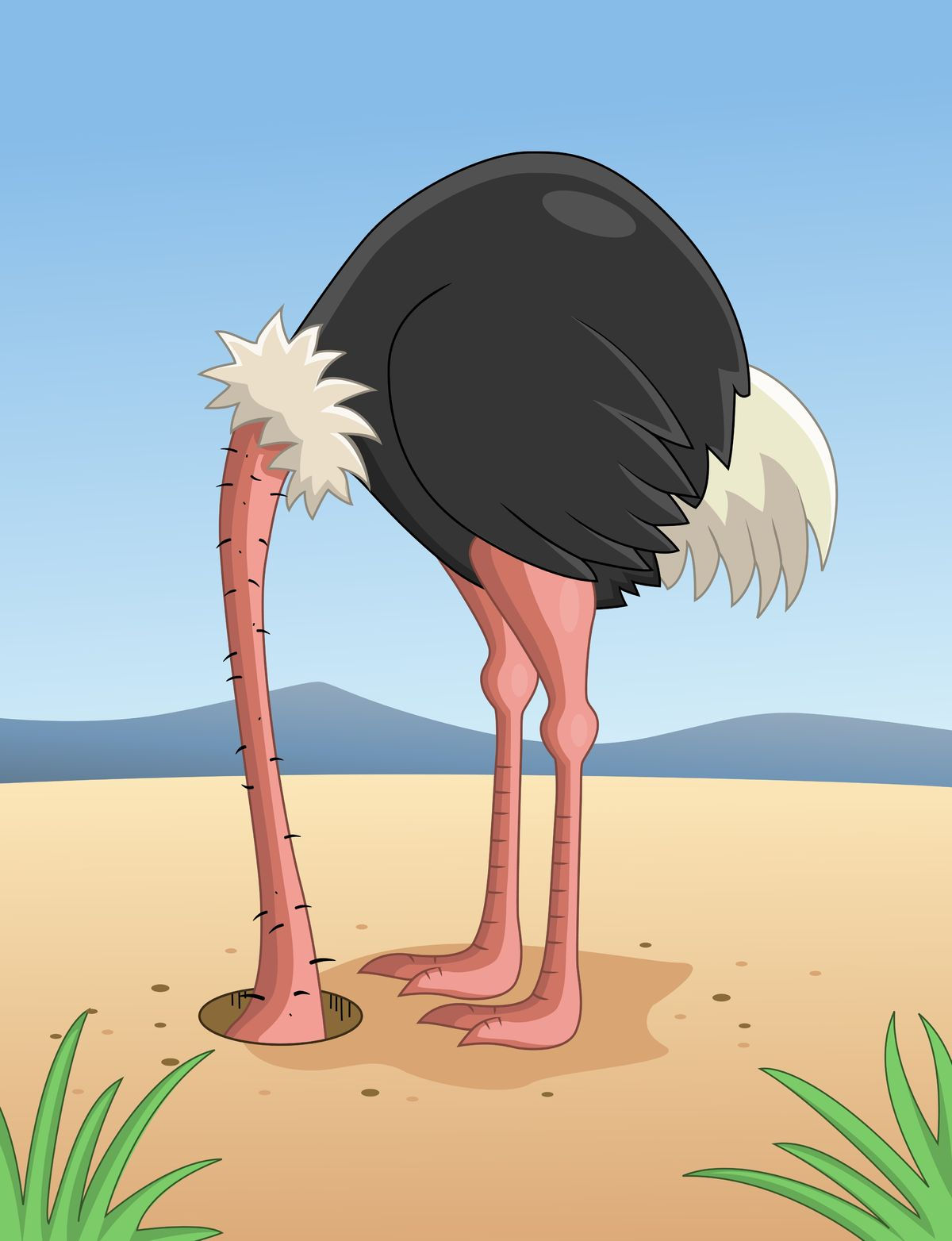 ostrich-with-head-in-sand