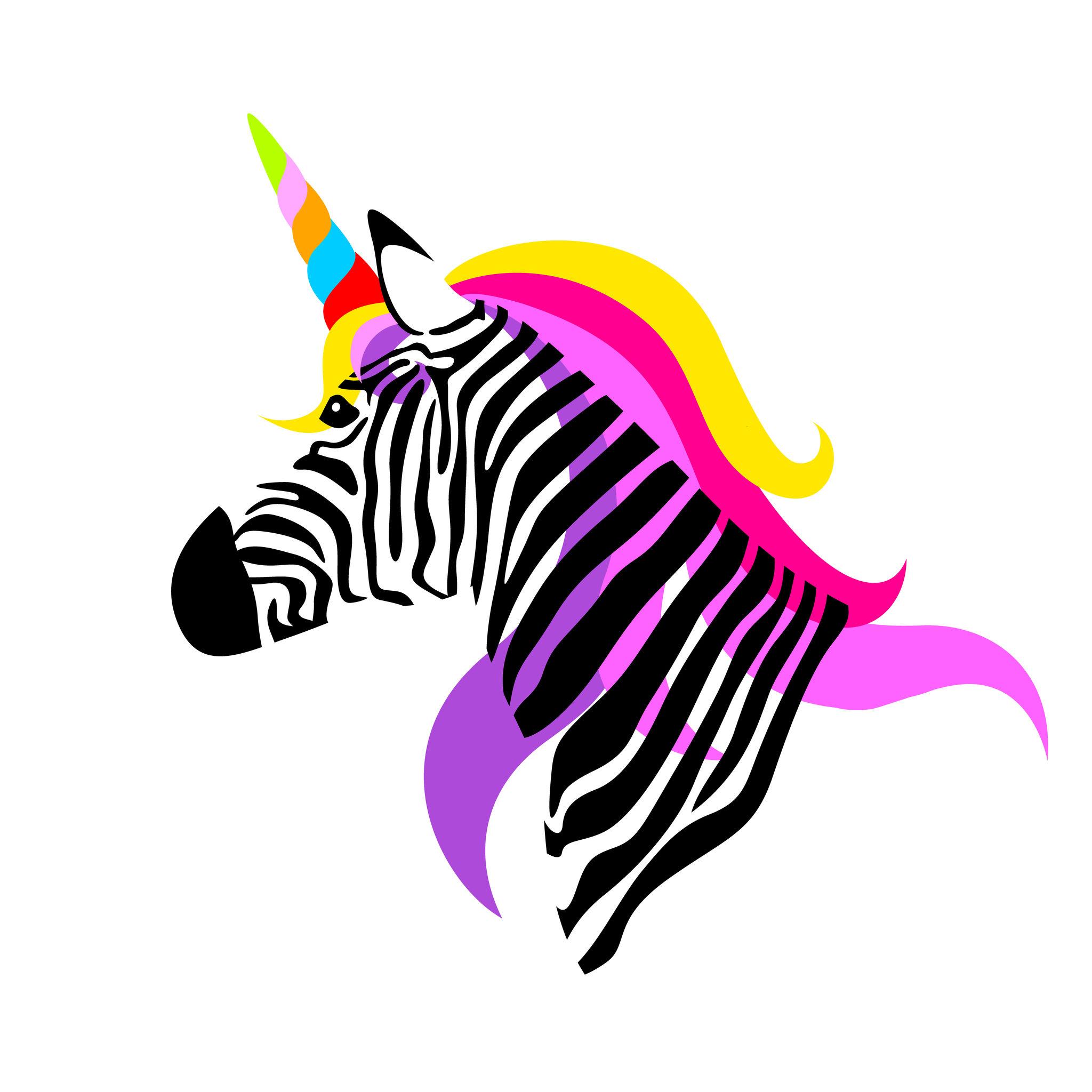 pink-unicorn-zebra