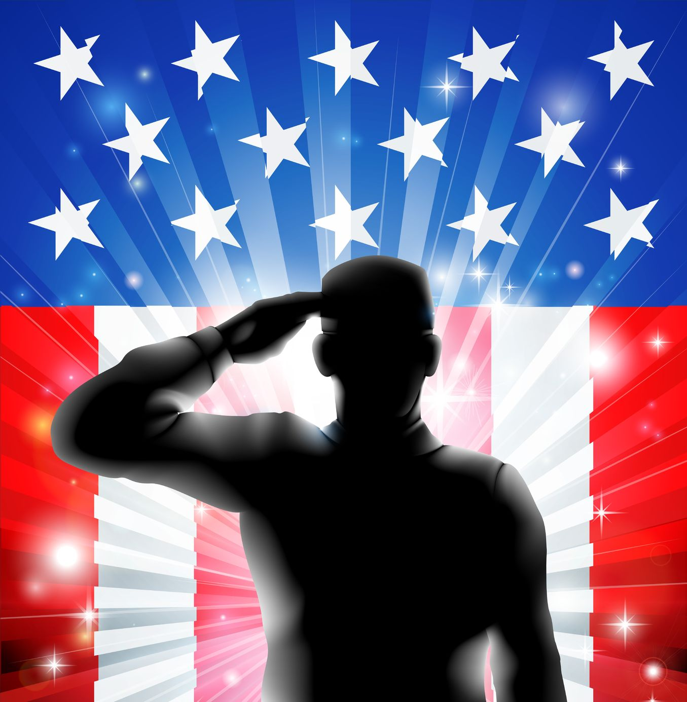 soldier-us-flag