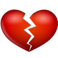 split-red-heart