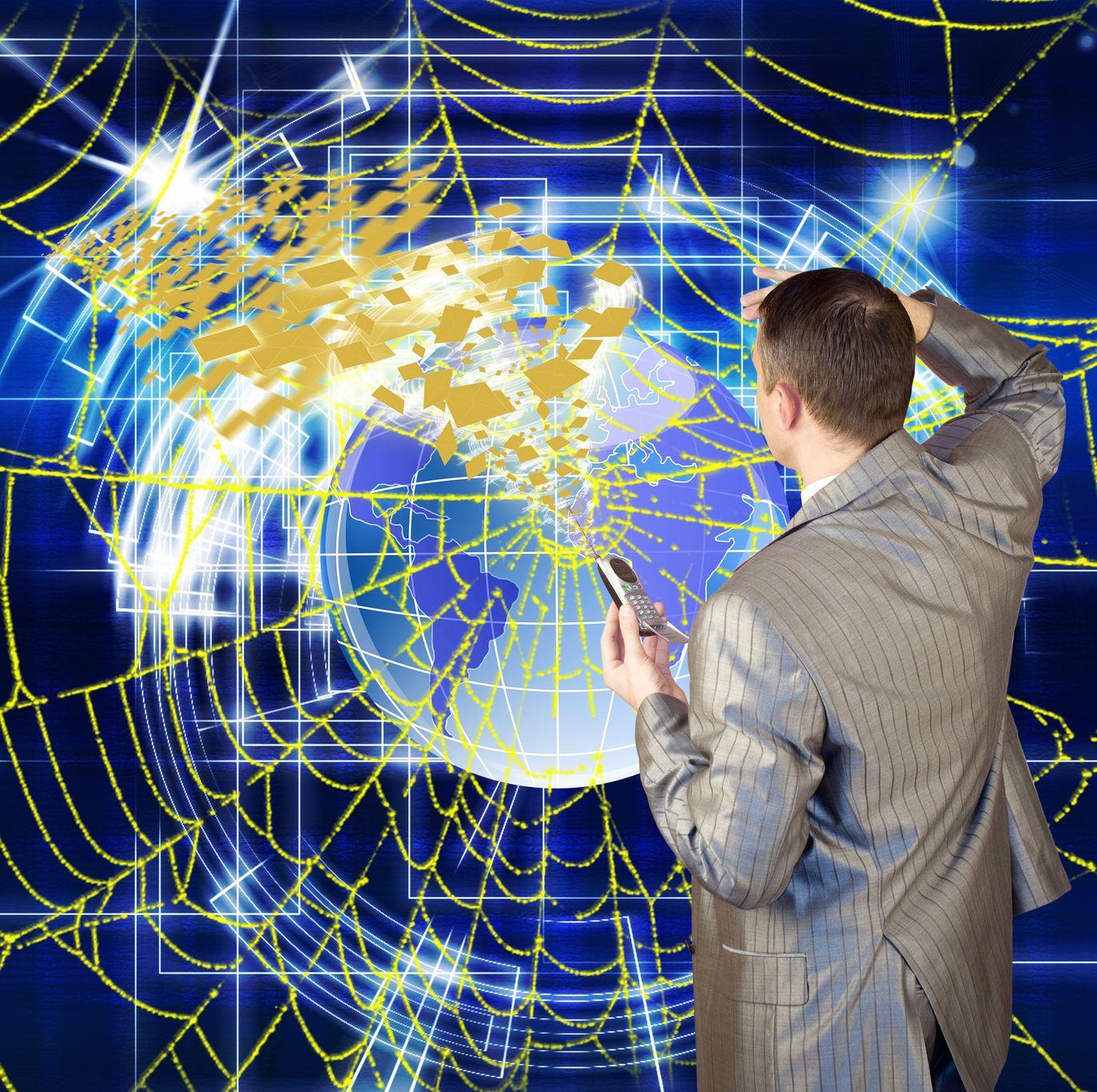 sprider-web-businessman