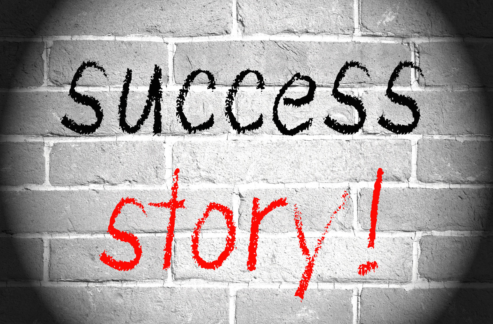 success-story-on-wall