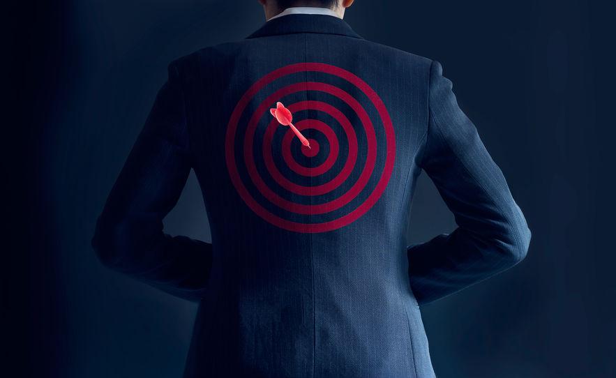 target-on-back