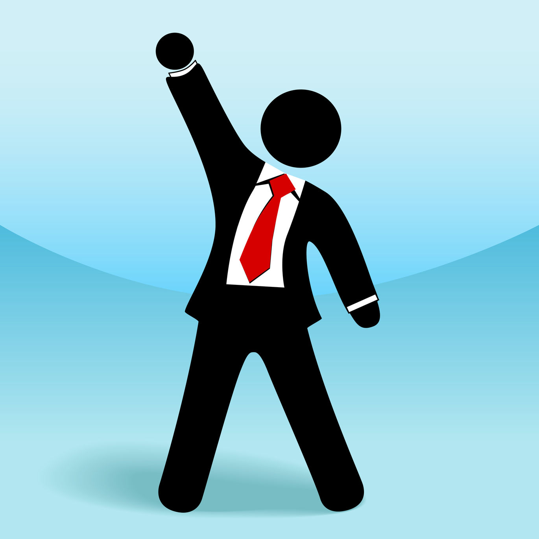 vector-businessman-arm-raised