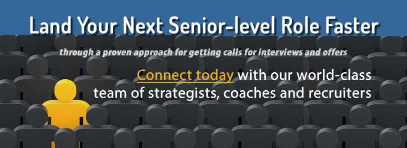 Land Your Next Senior-level Role Faster
