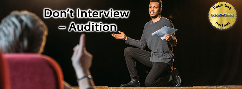 Don't Interview – Audition