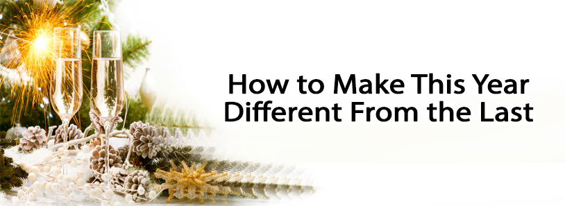 How to Make This Year Different From the Last