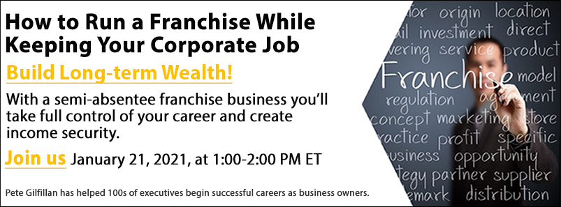 How to Run a Franchise While Keeping Your Corporate Job