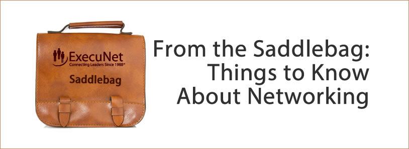 From the Saddlebag: Things to Know About Networking