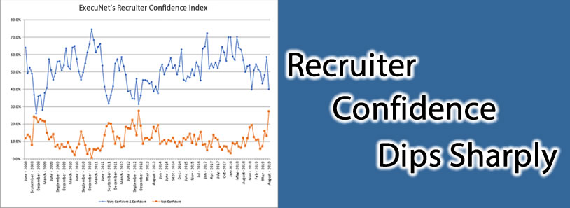 Recruiter Confidence Dips Sharply